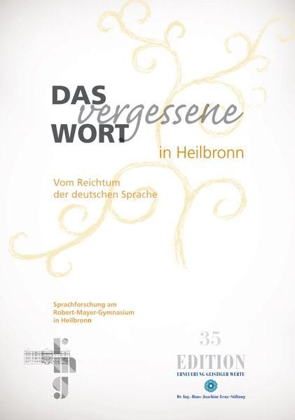 Das vergessene Wort in Heilbronn | 35, 2014 | Buch (Cover)