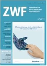 ZWF - Zeitschrift für wirtschaftlichen Fabrikbetrieb | 112. Jahrgang, 2014 (Cover)