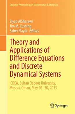 Abbildung von AlSharawi / Cushing / Elaydi   Theory and Applications of Difference Equations and Discrete Dynamical Systems   2014   ICDEA, Muscat, Oman, May 26 - ...   102