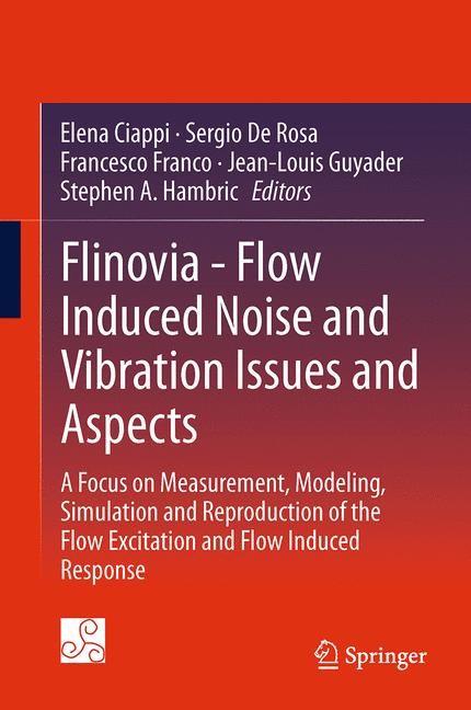 Abbildung von Ciappi / De Rosa / Franco / Guyader / Hambric | Flinovia - Flow Induced Noise and Vibration Issues and Aspects | 2014