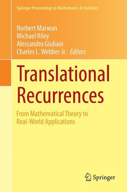 Abbildung von Marwan / Riley / Giuliani / Webber, Jr. | Translational Recurrences | 2014