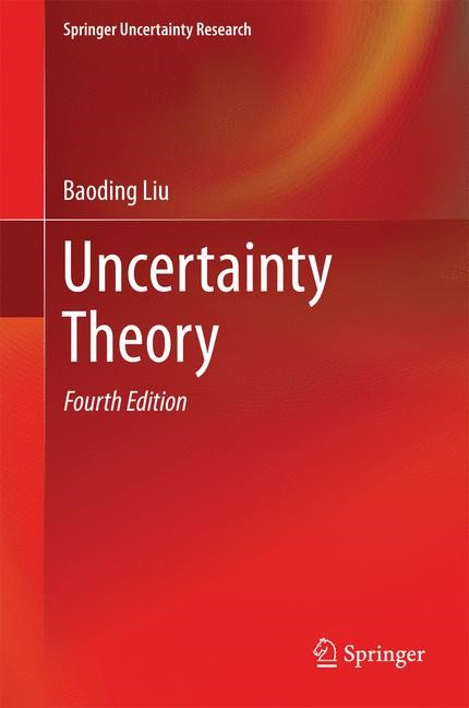 Uncertainty Theory | Liu, 2014 | Buch (Cover)