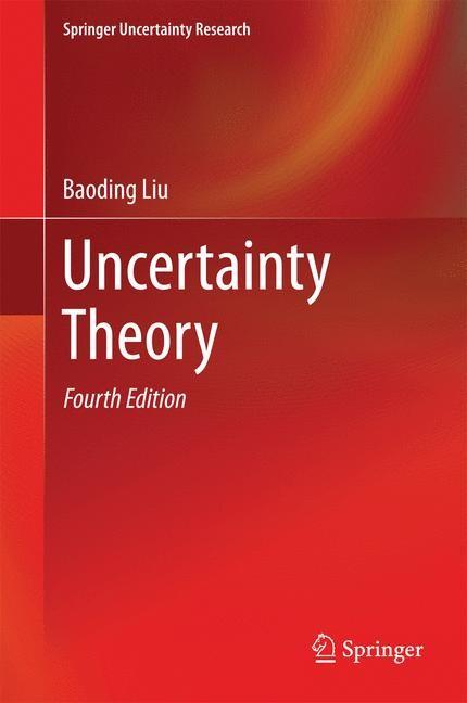 Abbildung von Liu | Uncertainty Theory | 2014