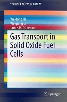 Abbildung von He / Lv / Dickerson | Gas Transport in Solid Oxide Fuel Cells | 2014