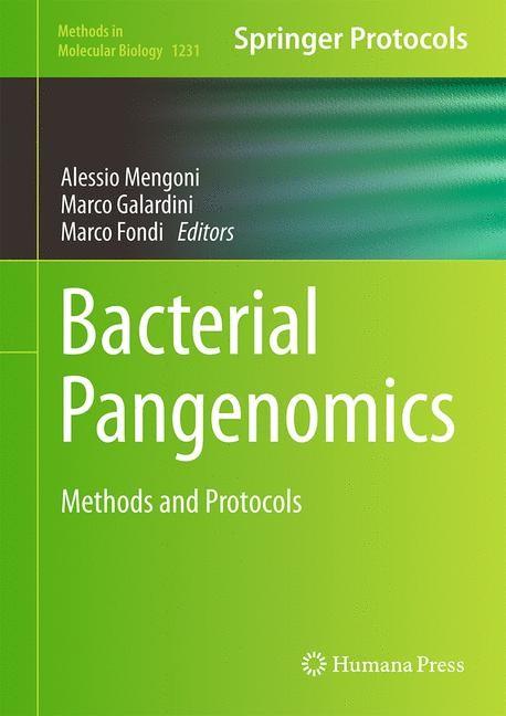 Abbildung von Mengoni / Galardini / Fondi | Bacterial Pangenomics | 2014