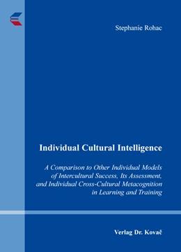 Abbildung von Rohac | Individual Cultural Intelligence | 2014 | A Comparison to Other Individu... | 20