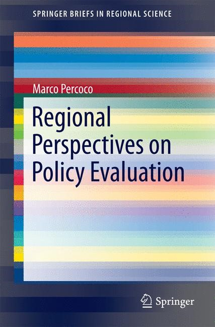 Abbildung von Percoco | Regional Perspectives on Policy Evaluation | 2014