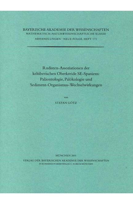 Cover: Stefan Götz, Rudisten-Assoziationen der keltiberischen Oberkreide SE-Spaniens: Paläontologie, Palökologie und Sediment-Organismus-Wechselwirkungen