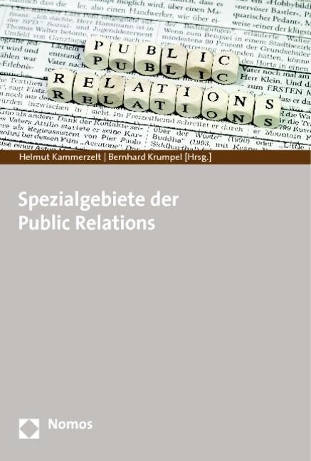 Spezialgebiete der Public Relations | Kammerzelt / Krumpel (Hrsg.), 2014 | Buch (Cover)