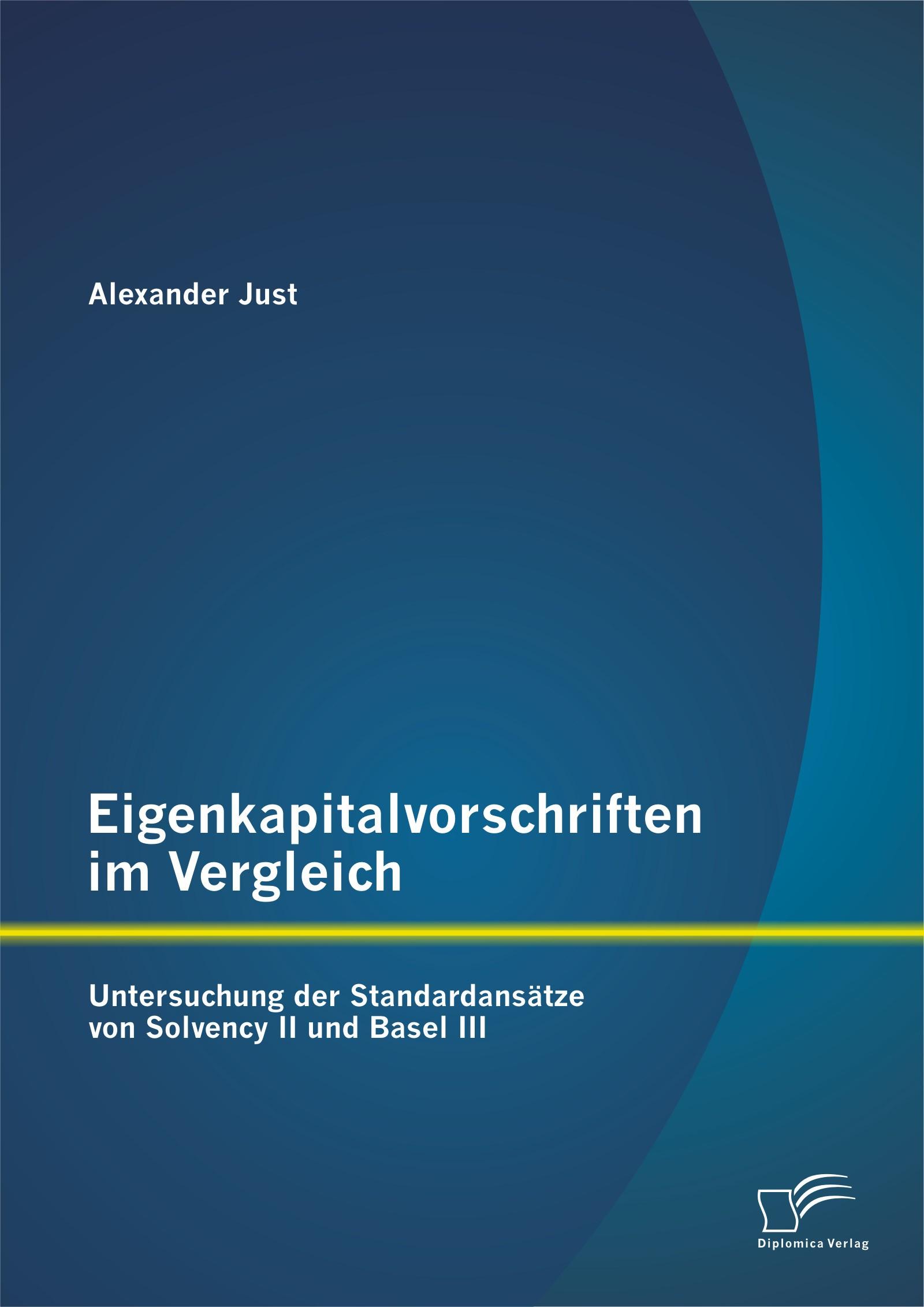 Eigenkapitalvorschriften im Vergleich | Just | Erstauflage, 2014 | Buch (Cover)