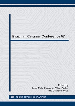 Abbildung von Castanho / Acchar / Hotza | Brazilian Ceramic Conference 57 | 2014 | Selected, peer reviewed papers... | Volumes 798-799