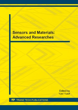Abbildung von Yusof | Sensors and Materials: Advanced Researches | 2014 | Selected, peer reviewed papers... | Volume 563