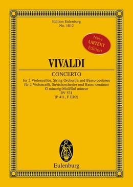Abbildung von Birtel | Concerto g-Moll | 2014 | RV 531 (P 411, F III/2). 2 Vio...