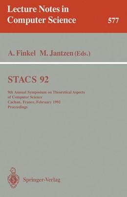 Abbildung von Finkel / Jantzen | STACS 92 | 1992 | 9th Annual Symposium on Theore... | 577