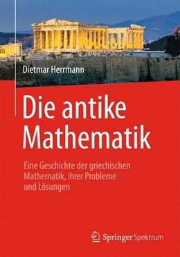 Abbildung von Herrmann   Die antike Mathematik   2014   2013   Eine Geschichte der griechisch...