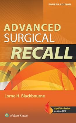 Abbildung von Blackbourne   Advanced Surgical Recall, 4e   2014