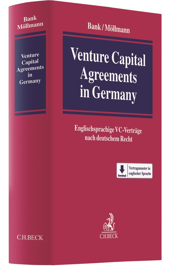 Venture Capital Agreements in Germany | Bank / Möllmann, 2017 | Buch (Cover)
