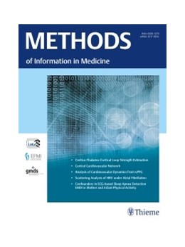 Abbildung von Methods of Information in Medicine | Volume 58 | 2019