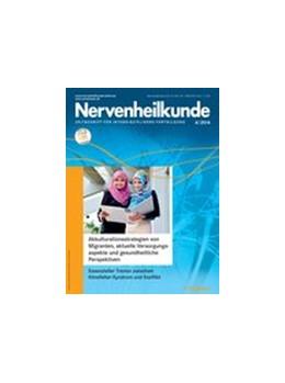 Abbildung von Nervenheilkunde | 38. Jahrgang | 2019 | interdisziplinäre Fortbildung ...