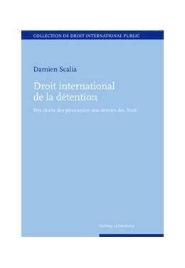 Abbildung von Scalia   Droit international de la détention   2015   Des droits des prisonniers aux...