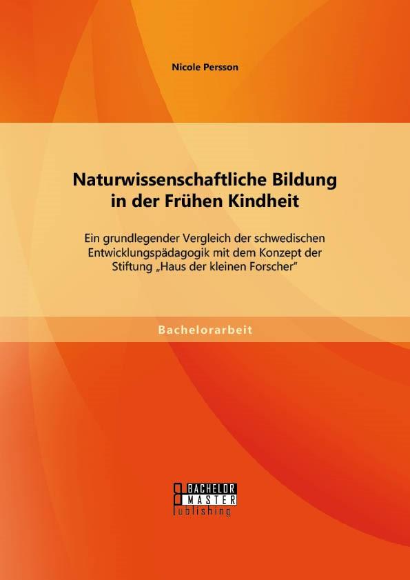 Abbildung von Persson | Naturwissenschaftliche Bildung in der Frühen Kindheit | Erstauflage | 2014