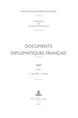 Abbildung von Documents diplomatiques français | 2014 | 1949 – Tome I (1er janvier – 3... | 13
