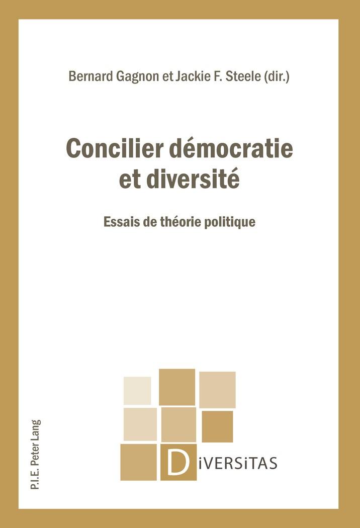 Abbildung von Gagnon / Steele | Concilier démocratie et diversité | 2014