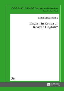 Abbildung von Budohoska | English in Kenya or Kenyan English? | 2014 | 36