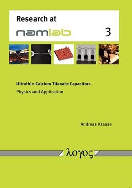 Abbildung von Krause   Ultrathin Calcium Titanate Capacitors   1. Auflage   2014   3   beck-shop.de