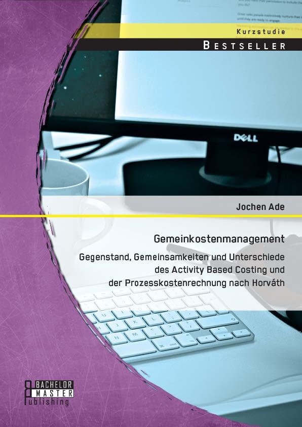 Gemeinkostenmanagement | Ade | Erstauflage, 2014 | Buch (Cover)
