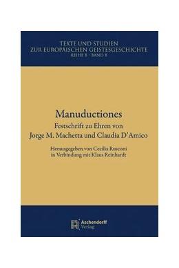 Abbildung von Rusconi / Reinhardt | Manuductiones | 1. Auflage | 2014 | 8 | beck-shop.de