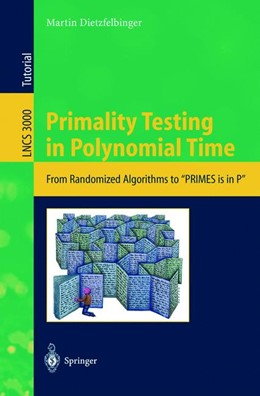 Abbildung von Dietzfelbinger | Primality Testing in Polynomial Time | 2004 | From Randomized Algorithms to ... | 3000