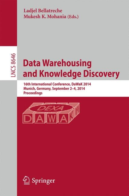 Abbildung von Bellatreche / Mohania   Data Warehousing and Knowledge Discovery   2014