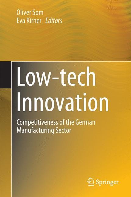 Abbildung von Som / Kirner | Low-tech Innovation | 2014