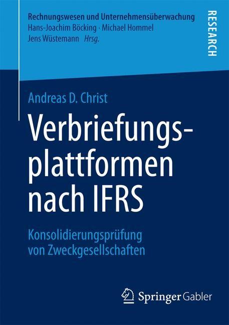 Abbildung von Christ | Verbriefungsplattformen nach IFRS | 2014 | 2014
