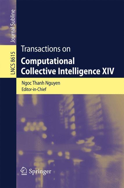 Abbildung von Nguyen | Transactions on Computational Collective Intelligence XIV | 2014