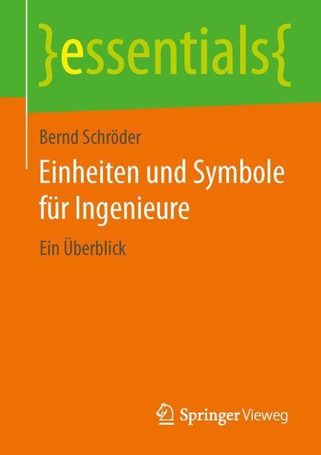 Abbildung von Schröder | Einheiten und Symbole für Ingenieure | 2014