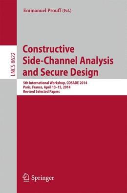 Abbildung von Prouff   Constructive Side-Channel Analysis and Secure Design   2014   5th International Workshop, CO...