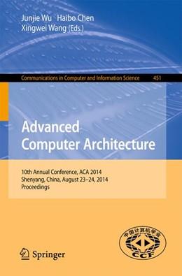 Abbildung von Wu / Chen / Wang   Advanced Computer Architecture   2014   10th Annual Conference, ACA 20...   451