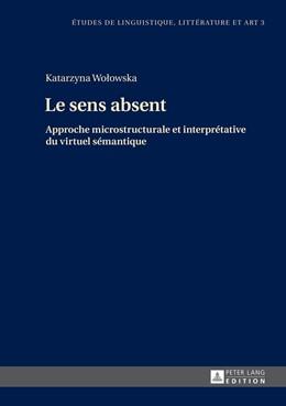 Abbildung von Wolowska   Le sens absent   2014   Approche microstructurale et i...   3