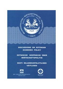 Abbildung von Estnische Gespräche über Wirtschaftspolitik 1/2014+ CD-ROM | 2014
