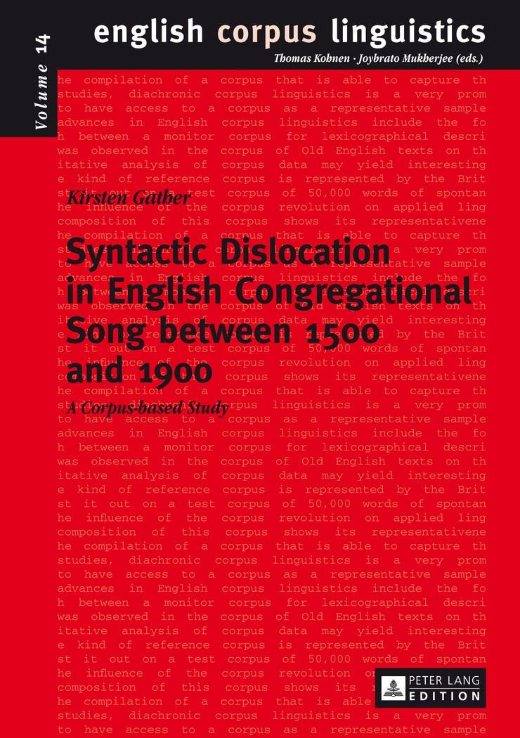 Abbildung von Gather | Syntactic Dislocation in English Congregational Song between 1500 and 1900 | 2014