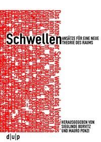 Schwellen | Borvitz / Ponzi, 2014 | Buch (Cover)