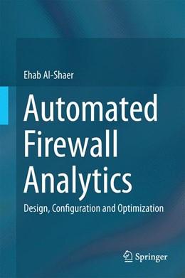 Abbildung von Al-Shaer   Automated Firewall Analytics   1. Auflage   2014   beck-shop.de