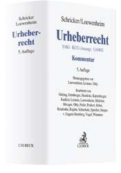 Urheberrecht | Schricker / Loewenheim | Buch (Cover)