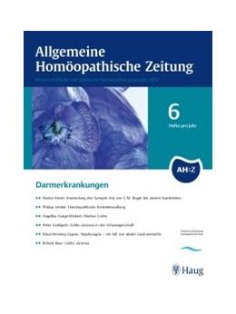Abbildung von AHZ - Allgemeine Homöopathische Zeitung | 263. Auflage | 2020 | beck-shop.de