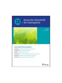 Abbildung von DO - Deutsche Zeitschrift für Osteopathie   18. Jahrgang   2020
