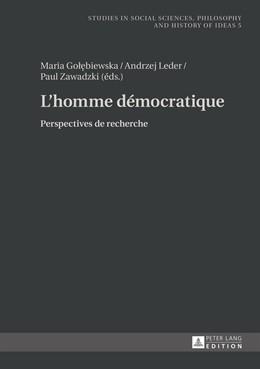 Abbildung von Golebiewska / Zawadzki / Leder | L'homme démocratique | 2014 | Perspectives de recherche | 5