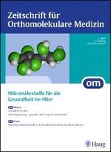 OM - Zeitschrift für Orthomolekulare Medizin | 16. Jahrgang, 2014 (Cover)