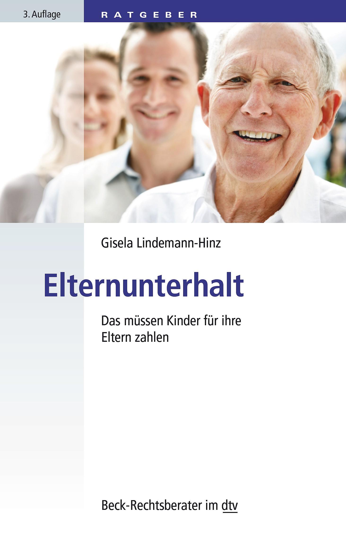 Elternunterhalt | Lindemann-Hinz | 3. Auflage, 2016 | Buch (Cover)